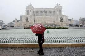 Neve in Italia....Odi et amo neve in italia....odi et amo Neve in Italia….Odi et amo neve a roma
