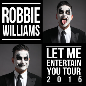 robbie: the one man show Robbie: The One Man Show let me ent you 2015