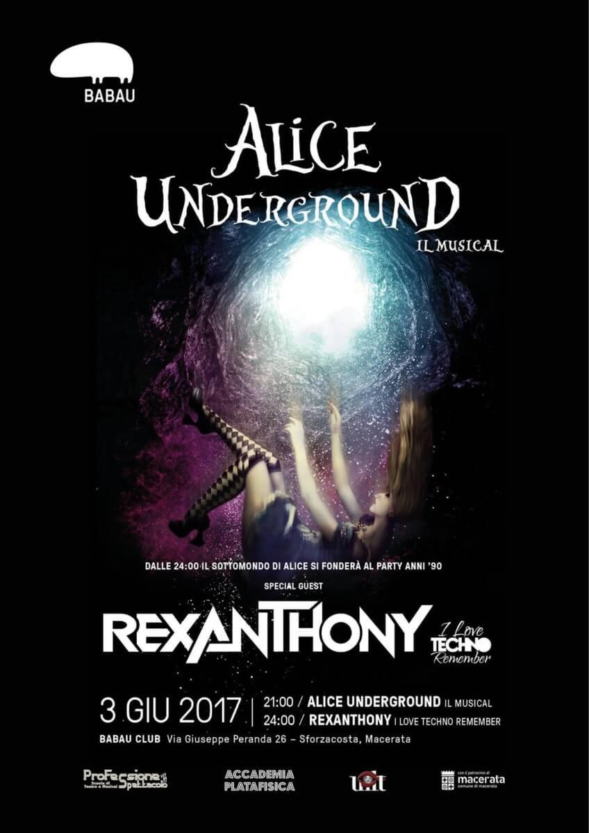 alice underground Alice Underground Locandina