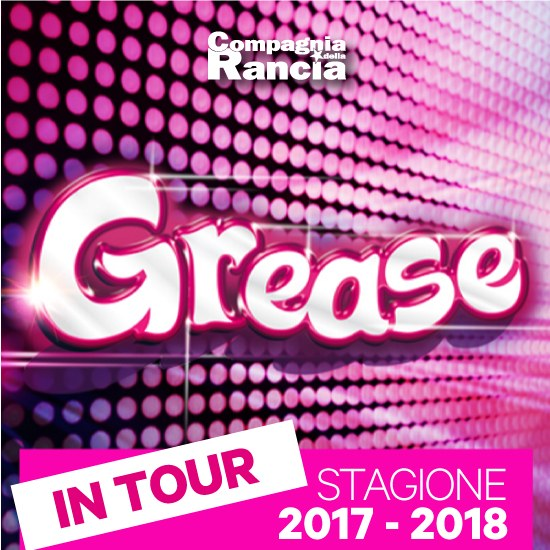 grease Grease Il Musical! Grease logoquadrato tour2017 2018