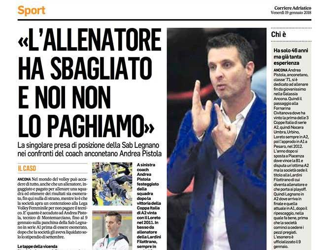contratti Contratti senza rispetto Corriere Adriatico