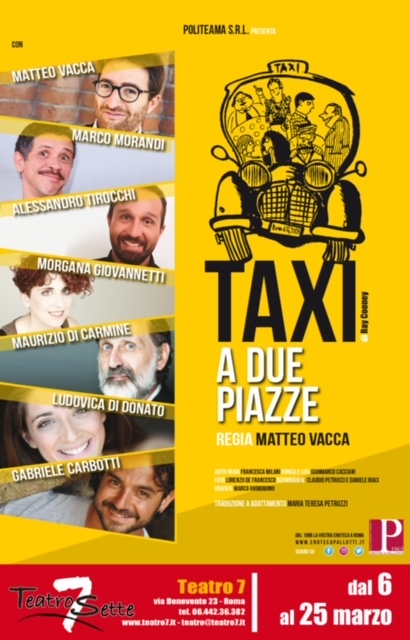 [object object] Un taxi a due piazze! LOCANDINA TAXI A DUE PIAZZE