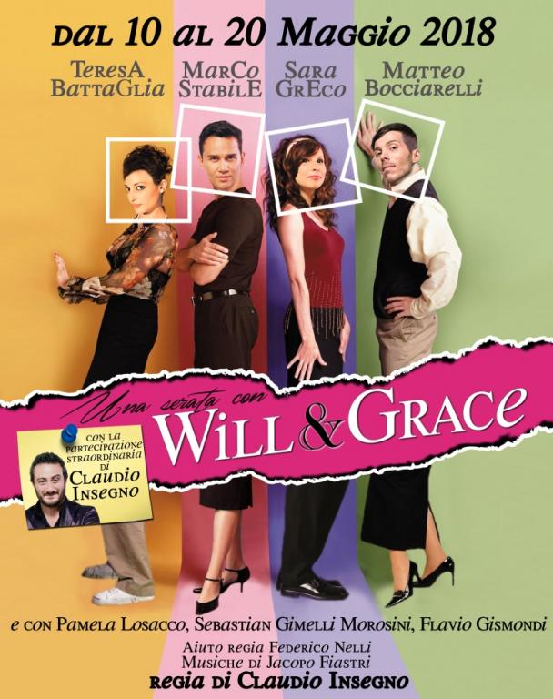 una serata con will & grace Una serata con Will & Grace locandina willgrace
