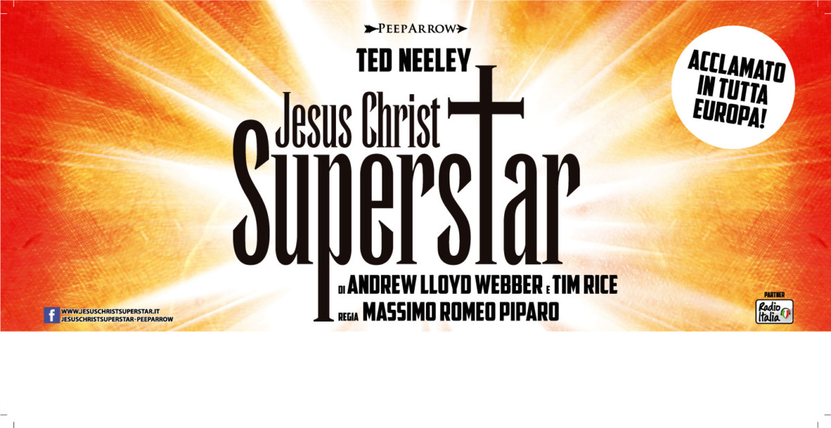 jesus christ superstar JESUS CHRIST SUPERSTAR JCSS18 6x3 tour italiano BASSA