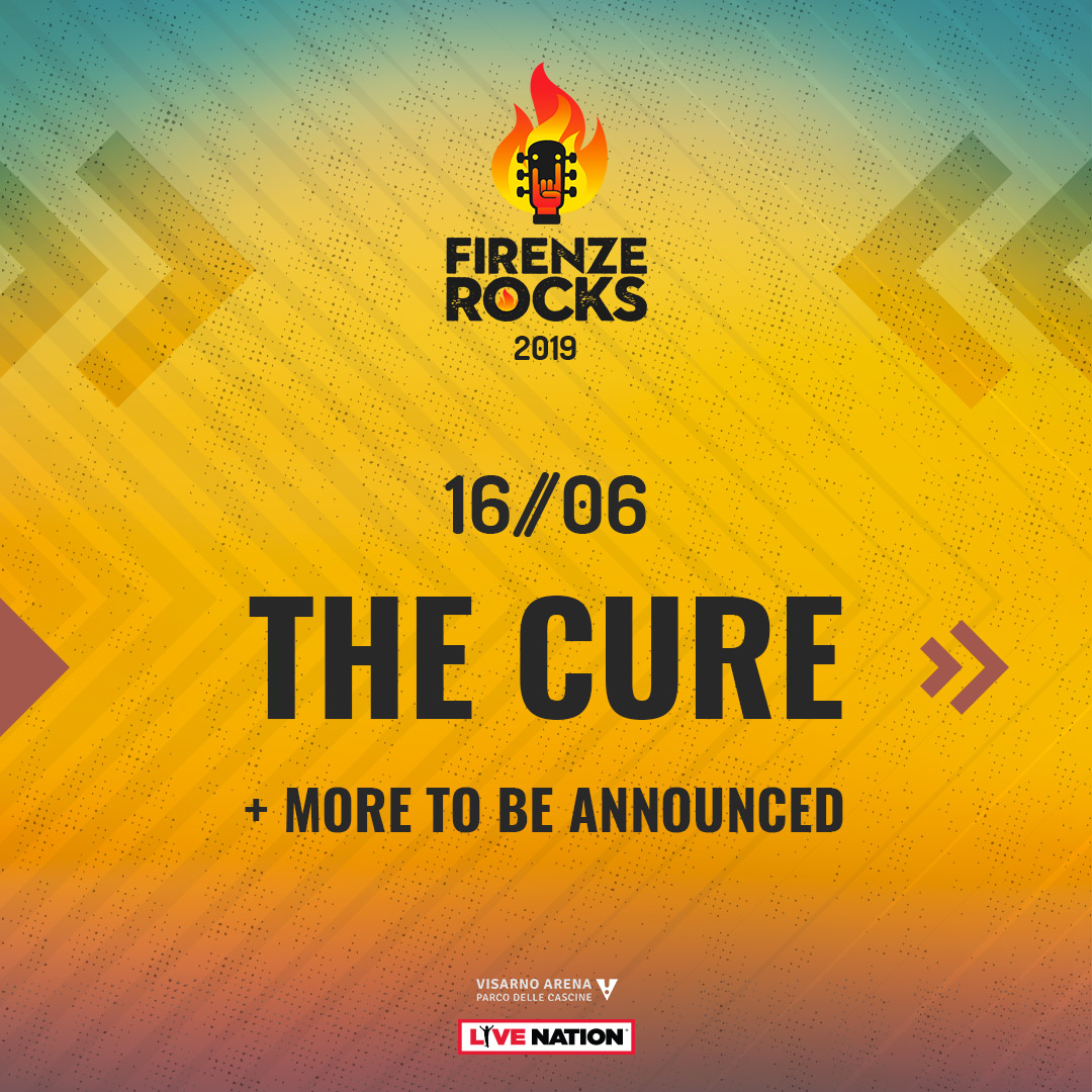 The Cure per Firenze Rock 2019! the cure The Cure per Firenze Rock 2019! 1537346683183