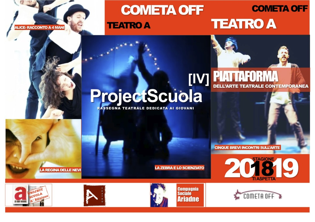 Project Scuola project scuola Project Scuola Locandina Stagione 18 19