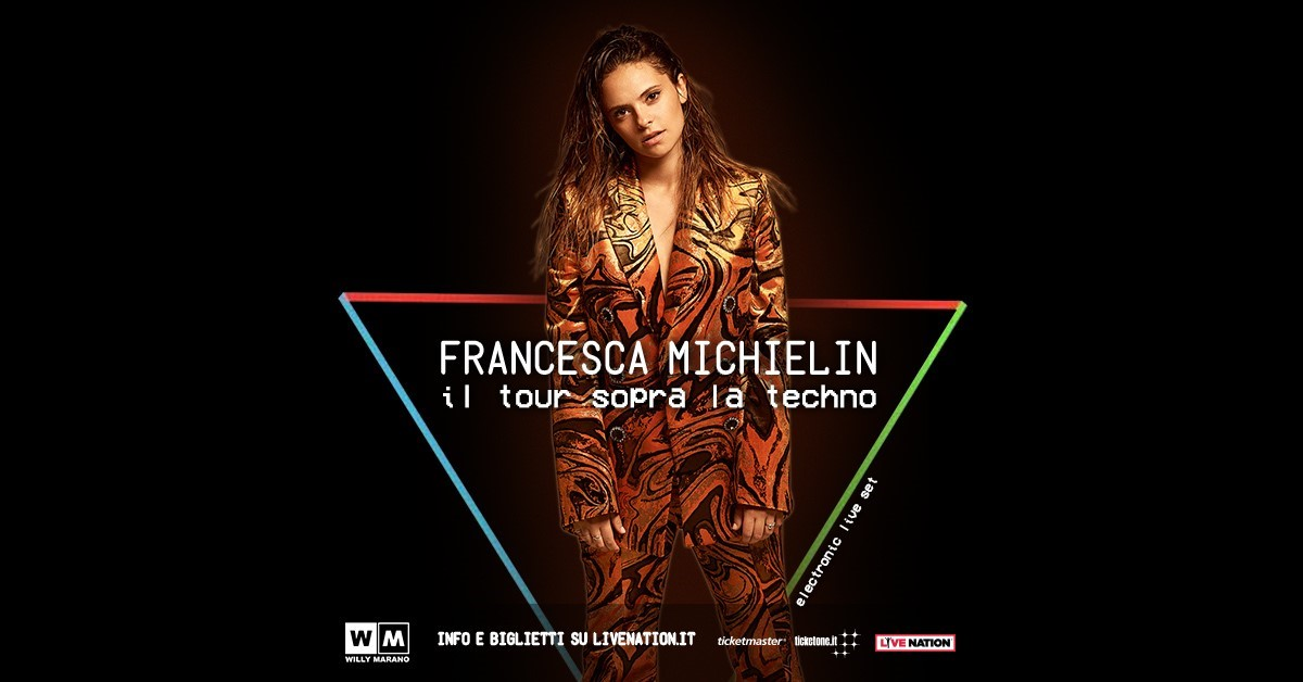 Francesca Michielin tour Francesca Michielin nuovo tour e nuovo singolo techno michielin