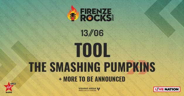 firenze Firenze rock: si aggiungono anche gli Smashink Pumpkins 1542016866503