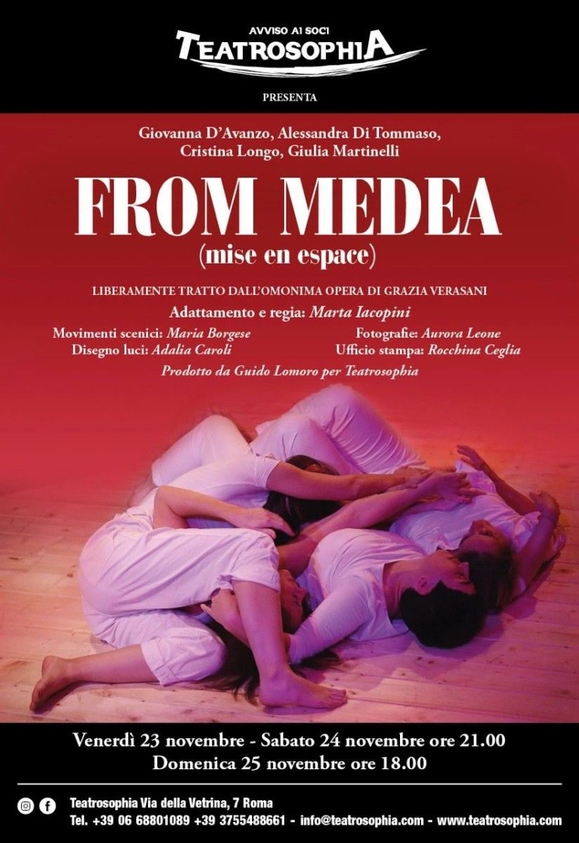 From Medea medea From Medea From Medea Locandina2