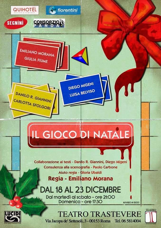 Il gioco di Natale natale Il gioco di Natale Locandina 18 23 dicembre