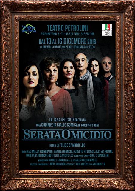 Serata Omicidio  Serata Omicidio foto Sandro LeoLocandina SerataOmicidio web Copia