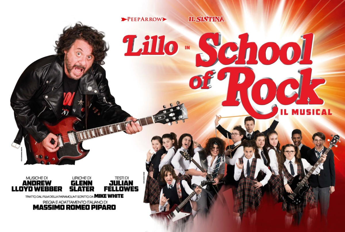 School of Rock school of rock School of Rock Locandina SCHOOL OF ROCK