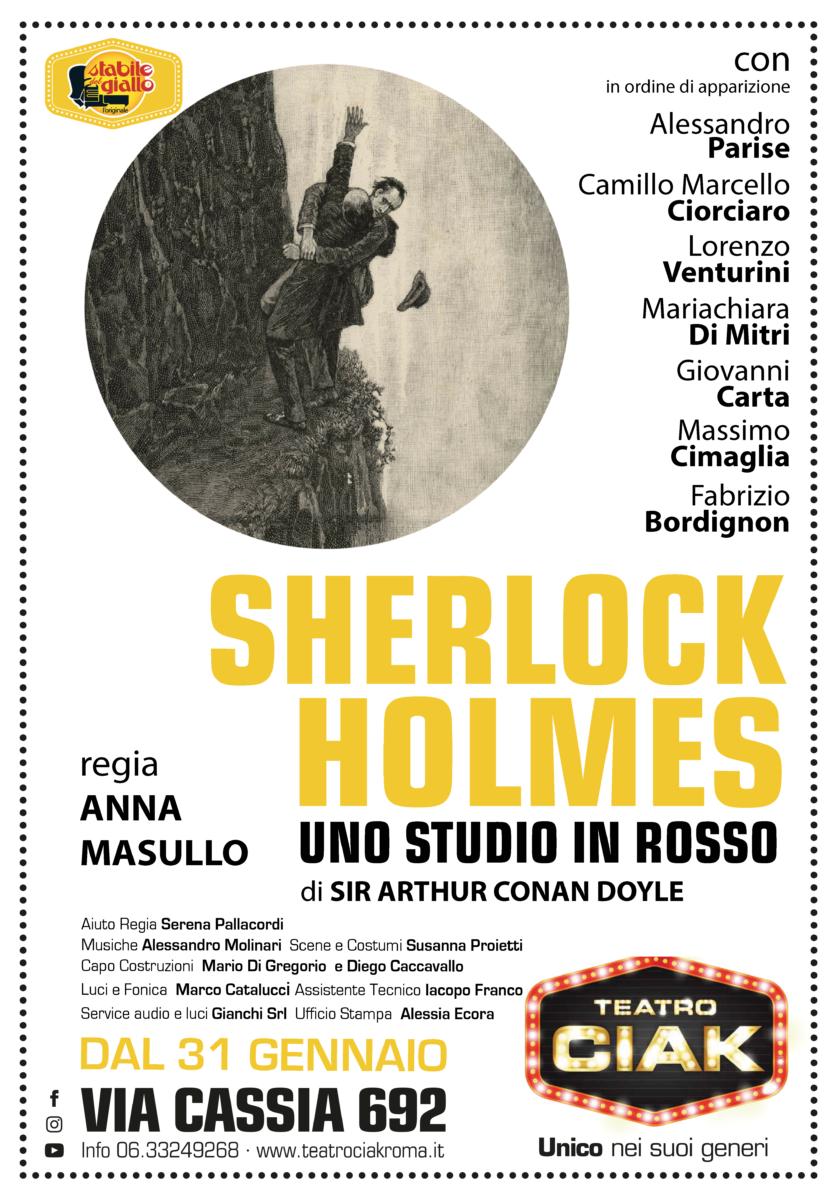 Sherlock Holmes - Uno studio in rosso sherlock holmes Sherlock Holmes – Uno studio in rosso locandina Sherlock Holmes