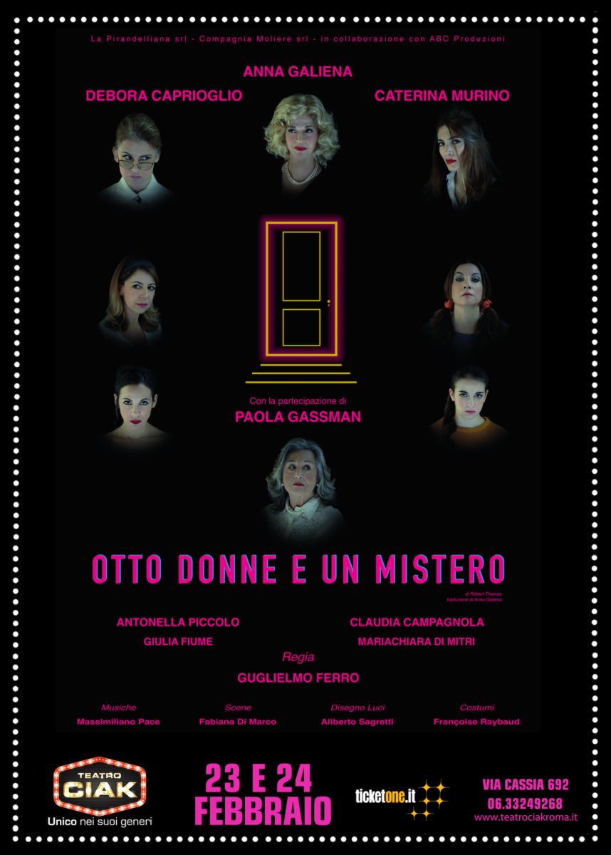 Otto donne e un mistero otto donne e un mistero Otto donne e un mistero Locandina Otto donne e un Mistero