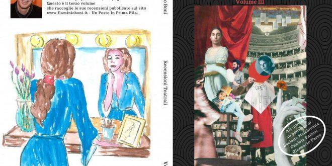 Recensioni Teatrali - Volume III - Sara Colangeli recensioni teatrali Recensioni Teatrali – Volume III fronte e retro 660x330