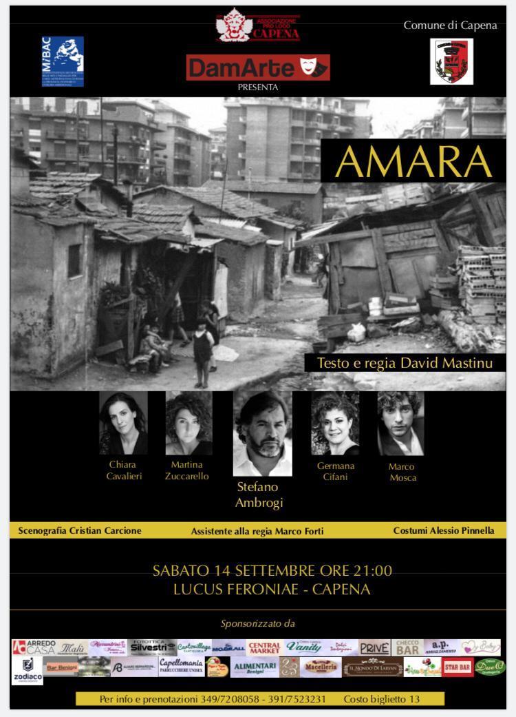 Amara - Sara Colangeli