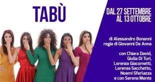 Tabù - Sara Colangeli tabù Tabù tab   310x165