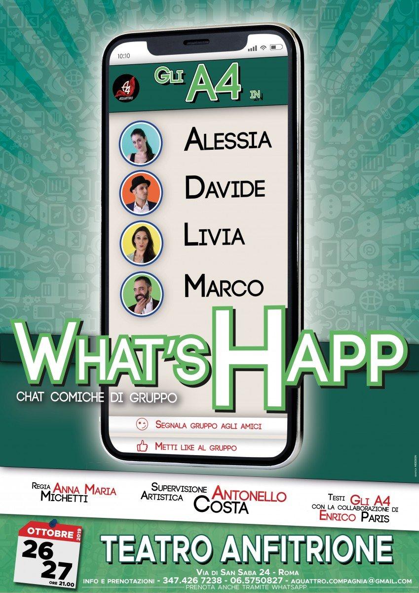 WHAT'S HAPP - chat comiche di gruppo chat WHAT'S HAPP – chat comiche di gruppo Whats Happ chat comiche di gruppo