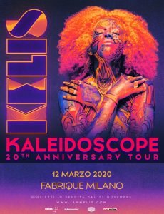 Kelis - Sara Colangeli kelis Kelis Kaleidoscope 230x300  Simple Minds – 40 years of hits tour 2020 Kaleidoscope 230x300