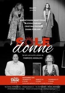 Soledonne - Sara Colangeli donne Soledonne sole donne A5 flyer ottobre 212x300