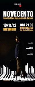 Novecento - Dominic Debartolo novecento Novecento locandina novecento 122x300 novecento Novecento locandina novecento 122x300
