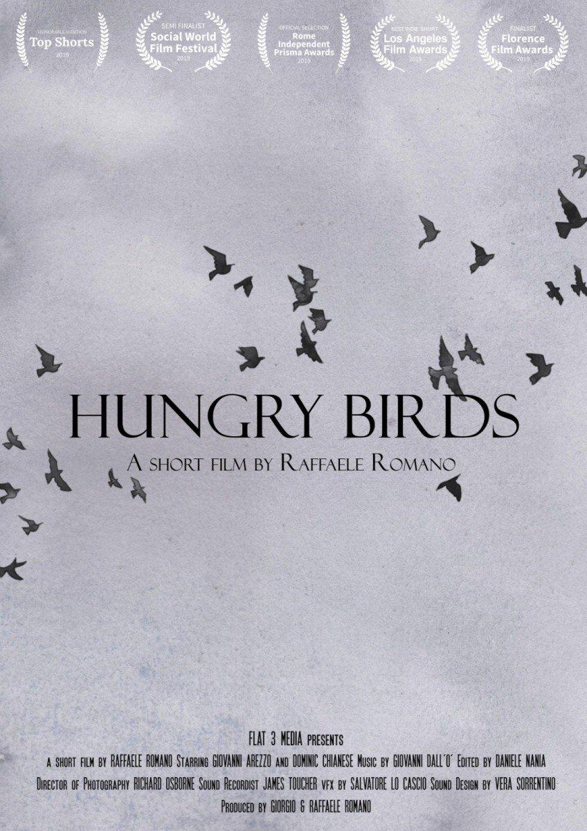 """Giovanni Arezzo Protagonista di """"Hungry Birds"""" hungry birds Giovanni Arezzo Protagonista di """"Hungry Birds"""" HUNGRY BIRDS  LOCANDINA"""