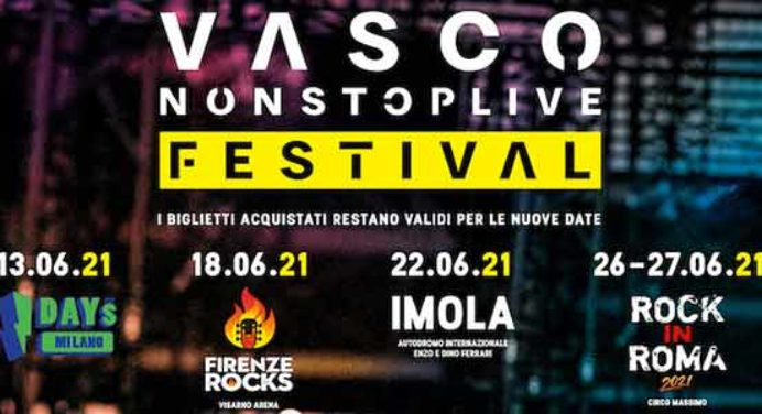Vasco e Red Hot Chili Peppers sul palco del Firenze Rock 2021 vasco Vasco e Red Hot Chili Peppers sul palco del Firenze Rock 2021 vasco 2021 date no stop live festival 692x376 1