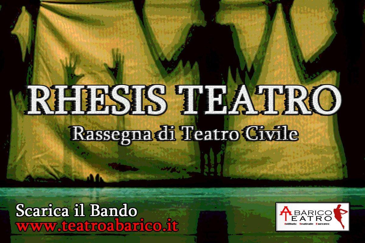Rhesis Teatro Rassegna di Teatro Civile