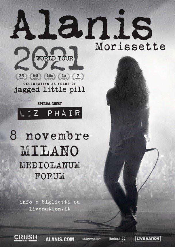 Alanis Morrisette: nuovo album e tour riprogrammato!