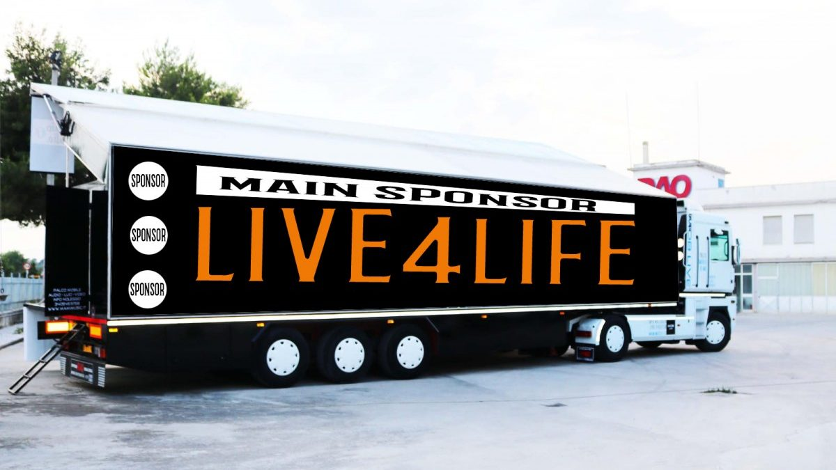 Live4Life- Dal vivo sotto casa tua live4life Live4Life– Dal vivo sotto casa tua truck 2 1200x675