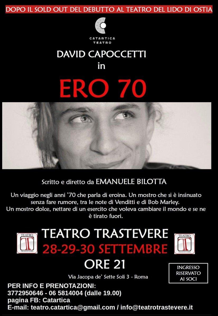 David Capoccetti in Ero 70
