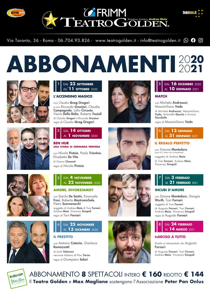 Il teatro Golden è tra i primi a riaprire in Italia
