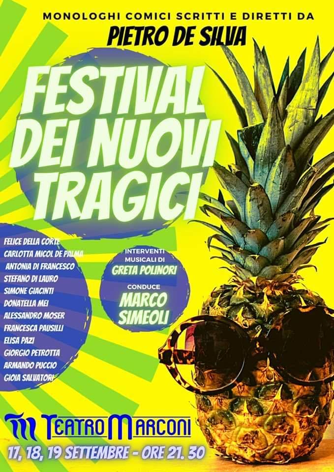 I Nuovi Tragici di Pietro De Silva al Teatro Marconi