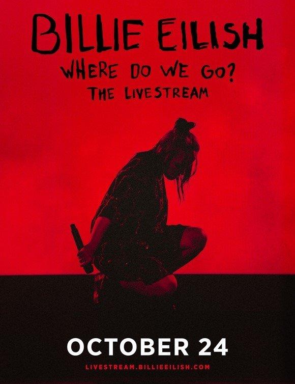Billie Eilish annuncia il concerto in live streaming globale