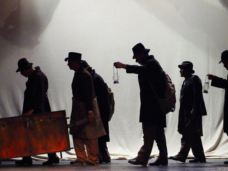 Dante e Icaro per il teatro Libero di Rebibbia