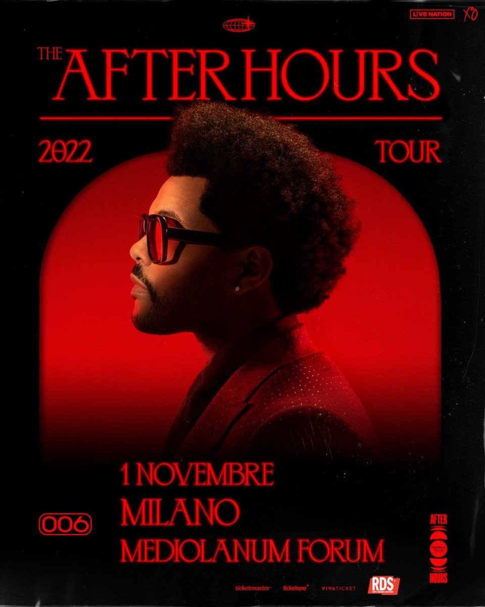 The Weeknd annuncia il tour mondiale: After Hours World Tour