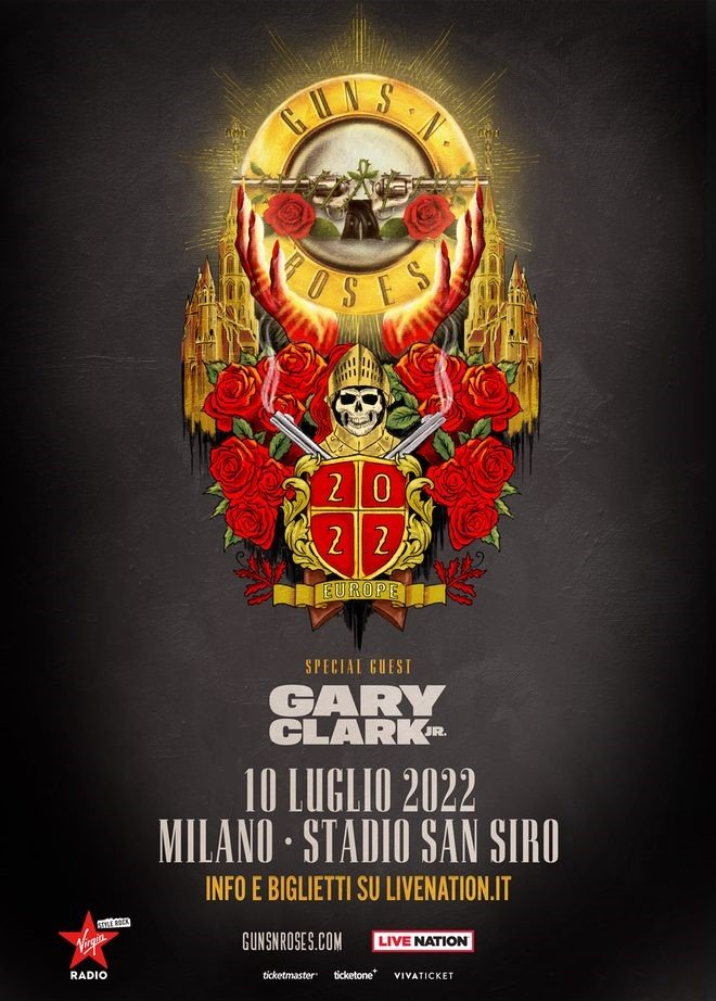 I Guns N' Roses annunciano la data italiana