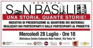 Borgata San Basilio, una storia quante storie!