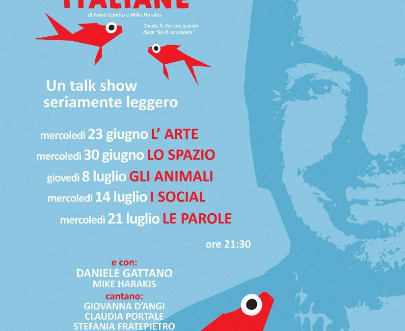Fabio Canino Brancaccino Open Air - Lezioni italiane