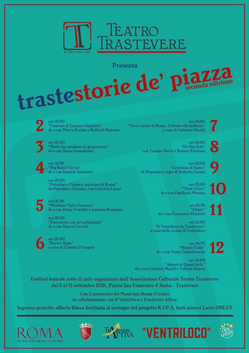 Trastestorie Dé Piazza II^edizione!